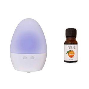 Unplug Meditation Aromatherapy Diffuser & Happy